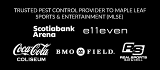 TRUSTED PEST CONTROL PROVIDER TO MAPLE LEAF SPORTS & ENTERTAINMENT (MLSE)